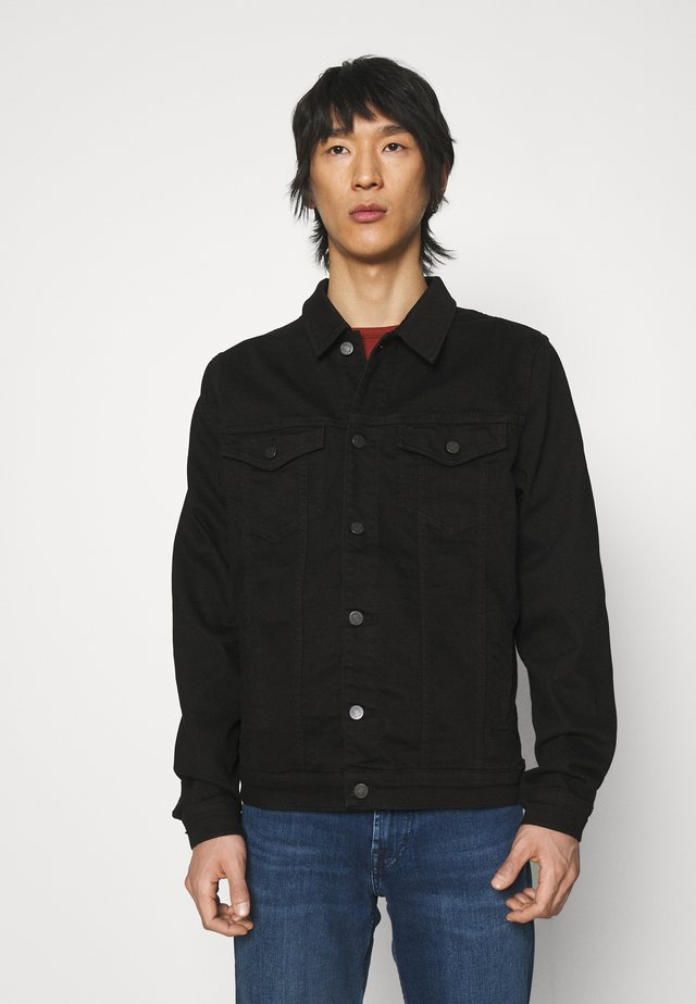 PERFECT LUXE PERFORMANCE - Giacca di jeans - rinse black