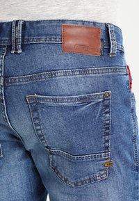 camel active - 9Z54 HOUSTON - Straight leg jeans - stone blue - 4