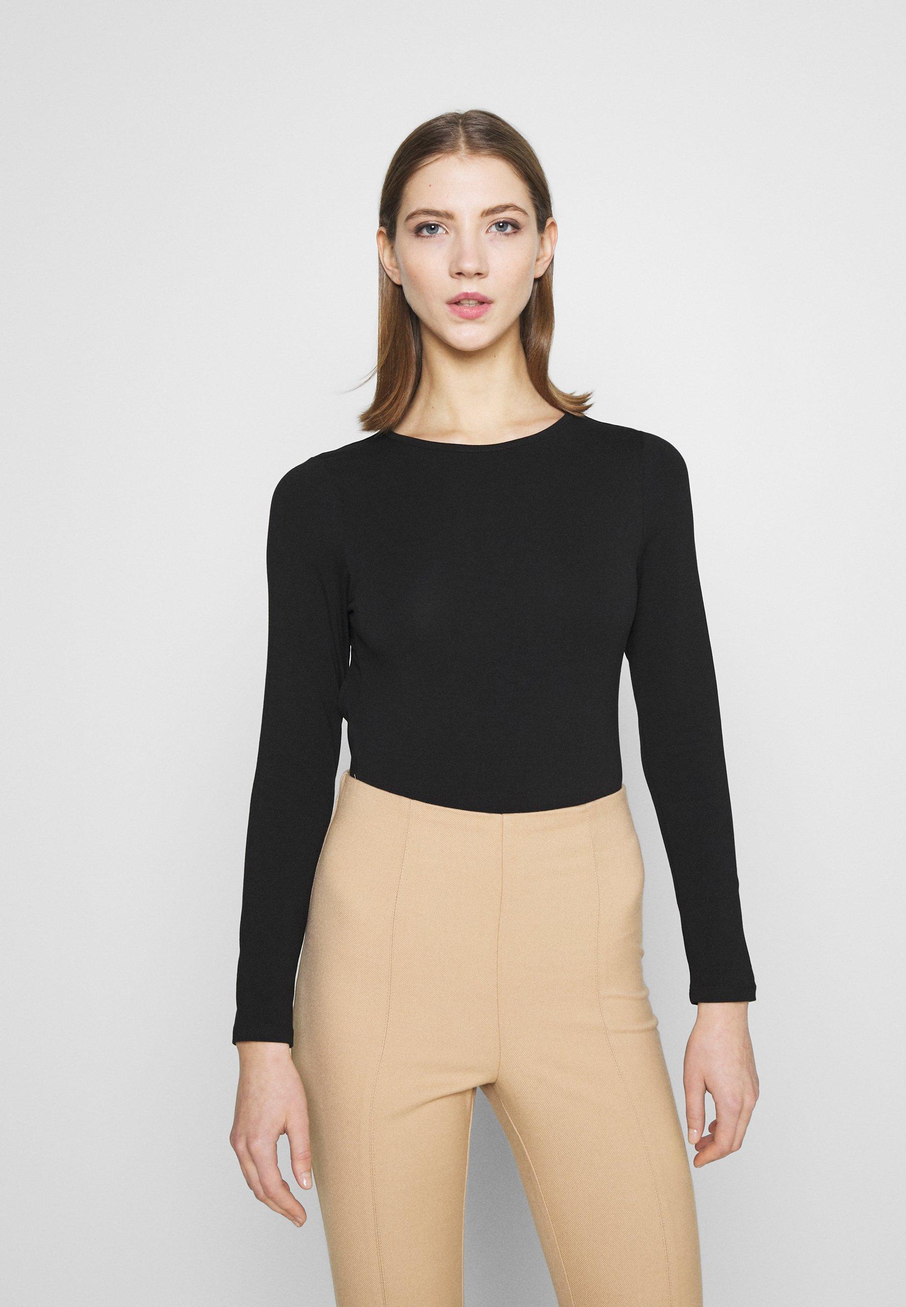 Women OPEN BACK BODY - Long sleeved top