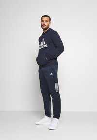adidas Performance - ESSENTIALS SPORTS INSPIRED HOODED - Mikina skapucí - legend ink - 1