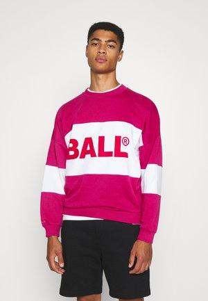 BALL SUMMER BALL FLOCK - Sweatshirt - very berry