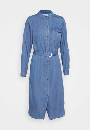 VIOAKES BISTA MIDI DRESS - Denim dress - medium blue