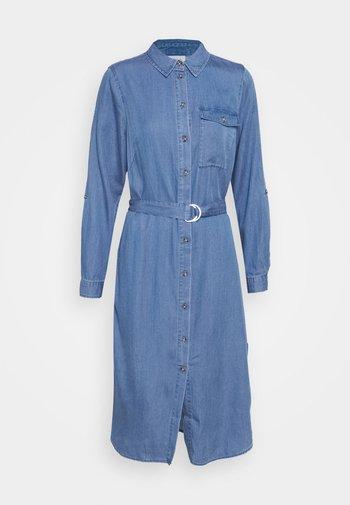 VIOAKES BISTA MIDI DRESS - Denim dress - medium blue