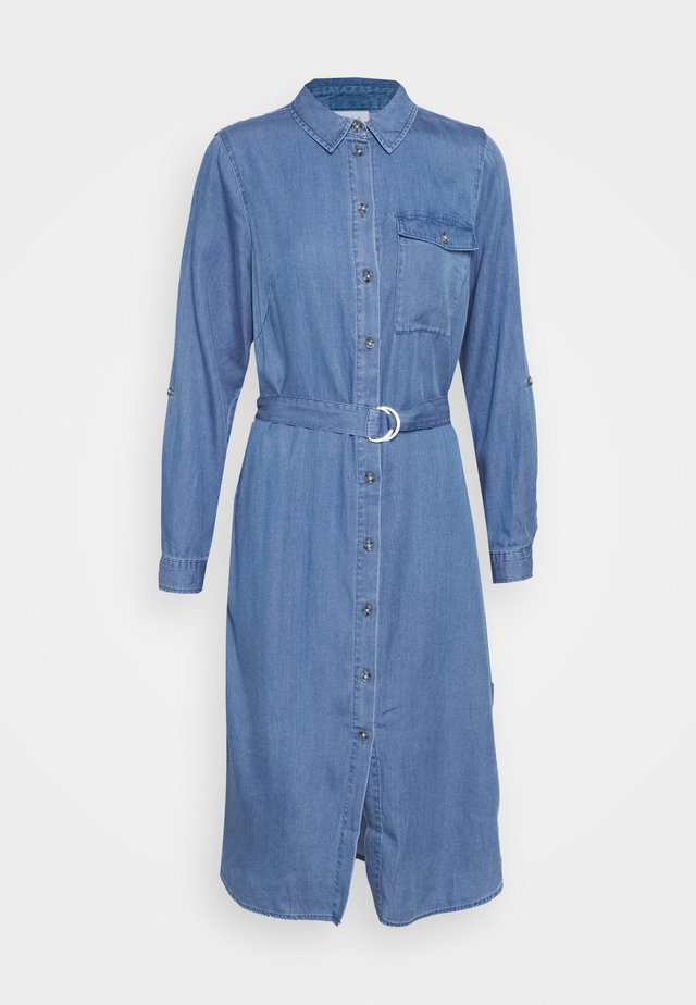 VIOAKES BISTA MIDI DRESS - Robe en jean - medium blue