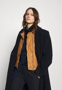 Gipsy - Leather jacket - camel - 4