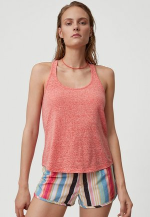 Top - hot coral