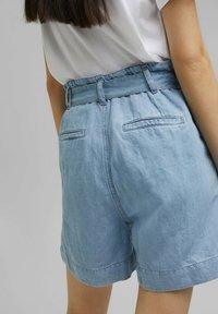 Esprit - Denim shorts - blue light washed - 7