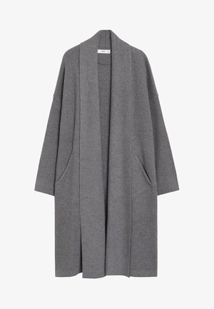 Cardigan - medium heather grey