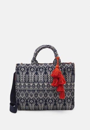 SANJO2 - Tote bag - navy