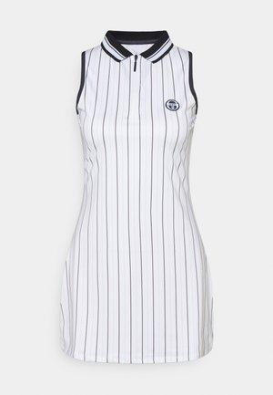 PARIS DRESS - Robe de sport - blanc de blanc/blue depths