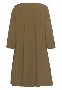 RIANI - Jersey dress - khaki - 2