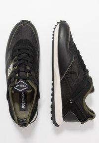 Replay - DRUM PRO GROUND - Zapatillas - black/green - 6