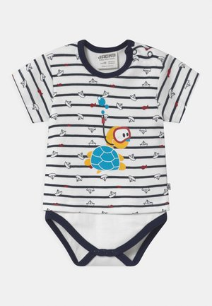 KURZARM OCEAN CHILD - Body - dark blue/white