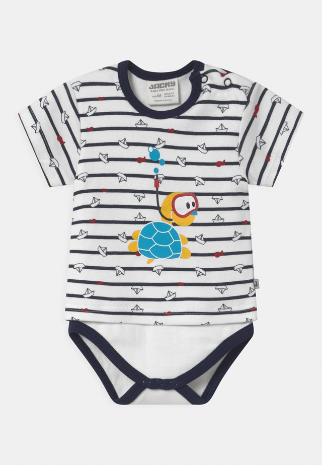 KURZARM OCEAN CHILD - Body - dark blue/white