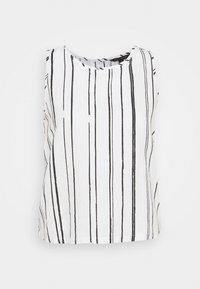 ESSENTIAL STRIPE - Bluser - white/black