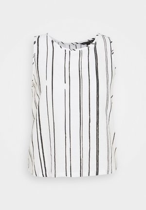ESSENTIAL STRIPE - Blouse - white/black