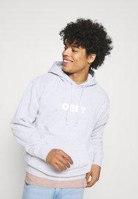 Obey Clothing - BOLD IDEALS SUSTAINABLE HOOD - Sweatshirt - ash grey - 3