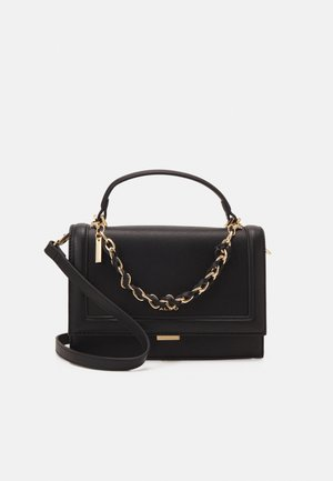 YAEWIA - Handbag - black/gold