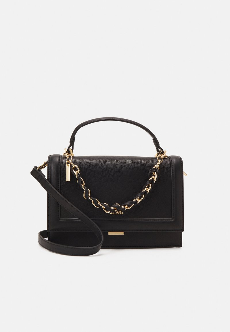ALDO - YAEWIA - Handbag - black/gold