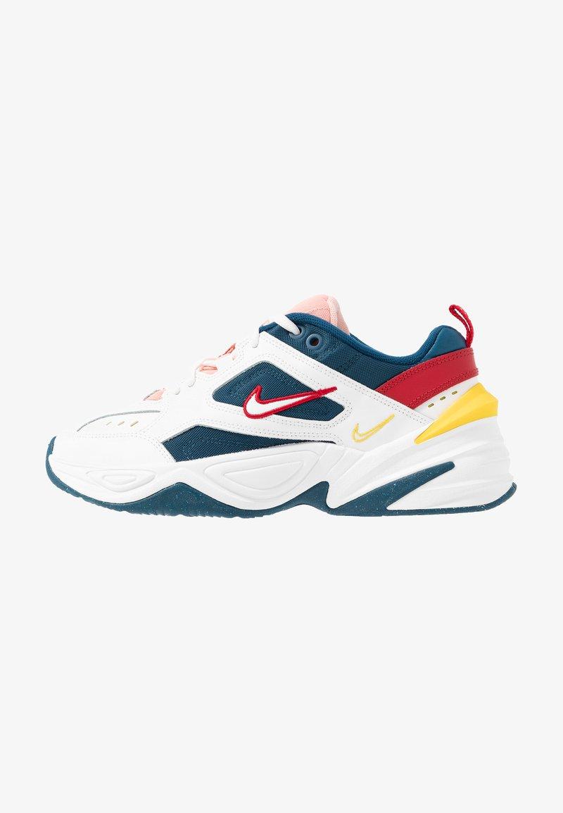 conformidad Embotellamiento Posada  Nike Sportswear M2K TEKNO - Trainers - blue force/summit white/chrome  yellow/blue - Zalando.de