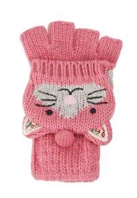 JoJo Maman Bébé - CAT GLOVES - Handsker - pink - 1