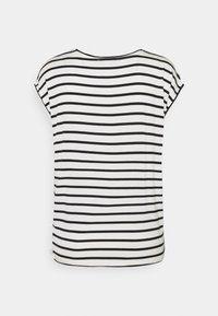 TOM TAILOR DENIM - STRIPED RELAXED TEE - Print T-shirt - navy/white - 1
