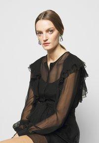 Alberta Ferretti - ABITO - Cocktail dress / Party dress - black - 4
