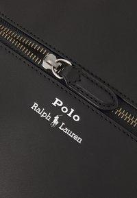 Polo Ralph Lauren - SMOOTH CROSSBODY UNISEX - Across body bag - black - 5