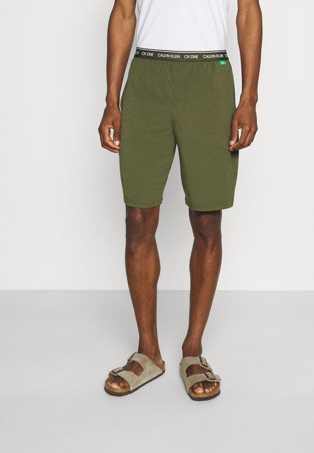 SLEEP SHORT - Pyjama bottoms - green