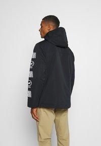 Hollister Co. - ANORAK - Light jacket - black - 2
