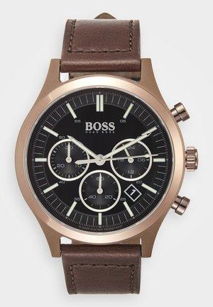 METRONOME - Chronograph watch - braun