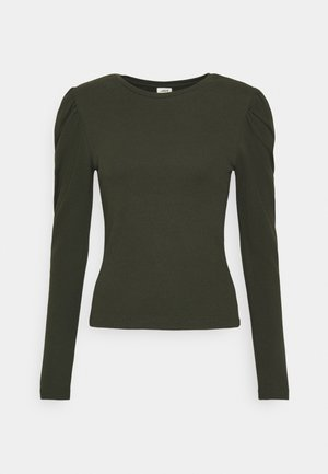 JDYCEREN PUFF SLEEVE - Long sleeved top - rosin