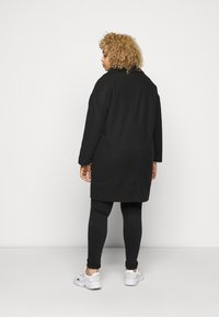 CAPSULE by Simply Be - SINGLE BREASTED RELAXED COAT - Classic coat - black - 2