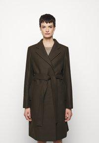 Filippa K - KAYA COAT - Klasický kabát - pine green - 0