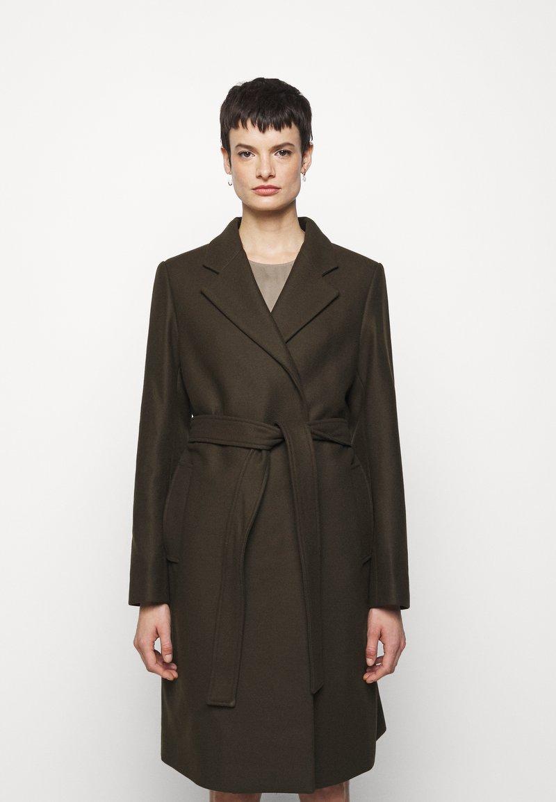 Filippa K - KAYA COAT - Klasický kabát - pine green