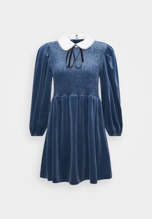 CHOUX MINI DRESS - Vestito elegante - blue
