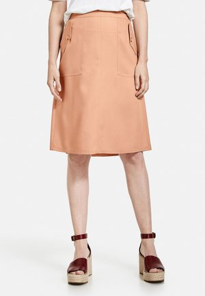 A-line skirt - sahara