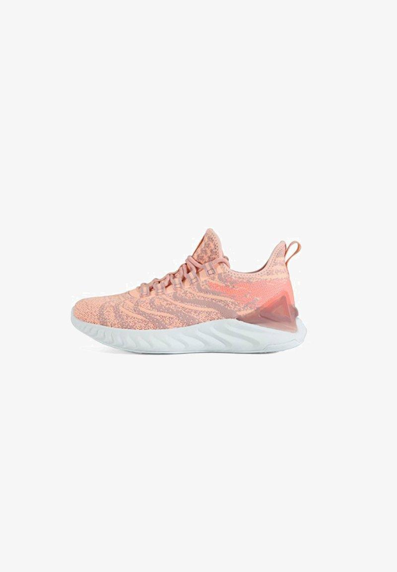 PEAK - TAICHI - Stabilty running shoes - powder-orange