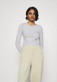 Even&Odd - 3 PACK - Long sleeved top - black/white/light grey - 4