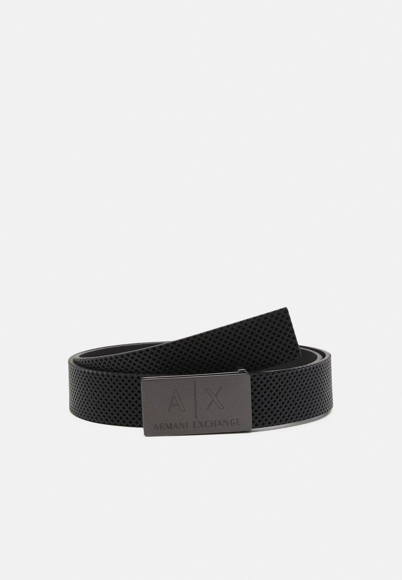 Armani Exchange - BELT - Belt - black