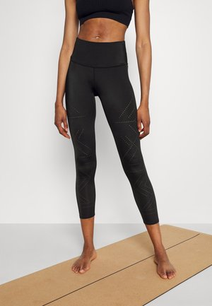 NAIRA LEGGING CROPPED - Leggings - black