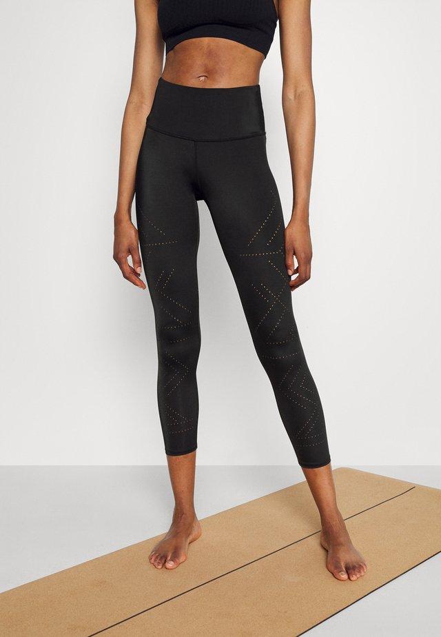 NAIRA LEGGING CROPPED - Tights - black
