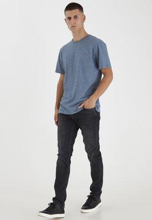 THOR  - T-shirt - bas - navy blazer melange