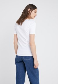 J.CREW - CREWNECK ELBOW SLEEVE - Basic T-shirt - white - 2