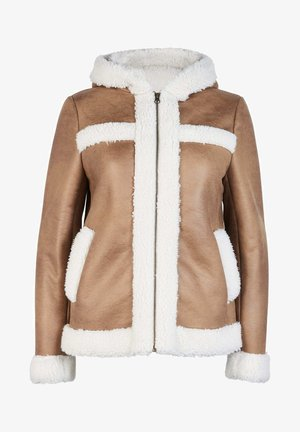 Winter jacket - kamelbraun