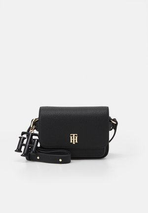 SOFT MINI CROSSOVER - Across body bag - black
