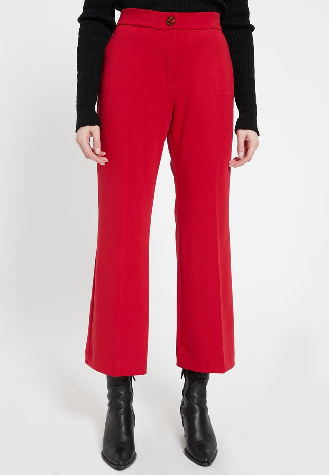 BAXIS - Pantalon classique - rot