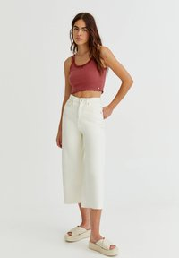 PULL&BEAR - Top - red - 1