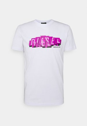 DIEGOS UNISEX - Print T-shirt - white