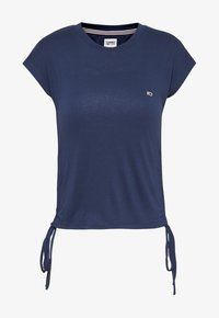 Tommy Jeans - Print T-shirt - twilight navy - 0